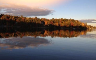 spider-lake-fall-evening